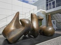 Henry Moore, Three Piece Sculpture: Vertebrae, 1968/69