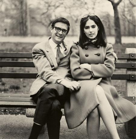 Diane Arbus, Kenneth Noland and his Girlfriend Stephanie Gordon, 1966