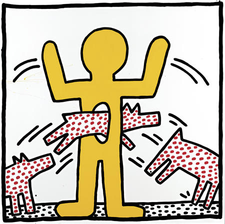 Keith Haring, Ohne Titel, 1982