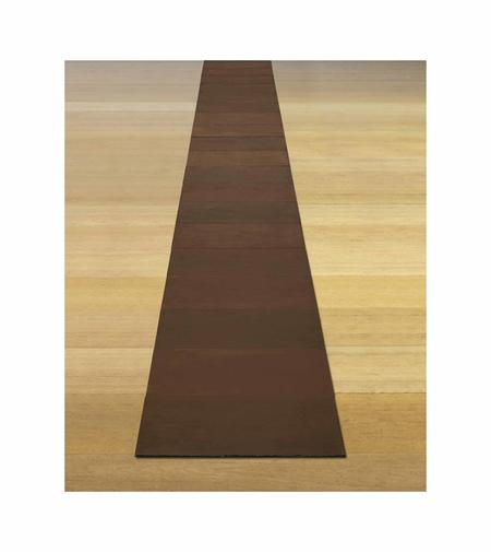Carl Andre, Nineteenth Copper Cardinal, 1975
