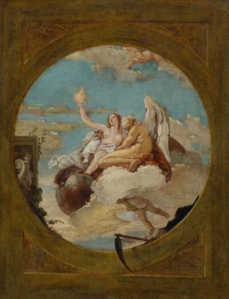 Giovanni Battista Tiepolo, Time discovering Truth, um 1740/50