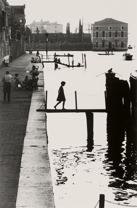 Willy Ronis, Fondamenta Nuove, Venise, 1959