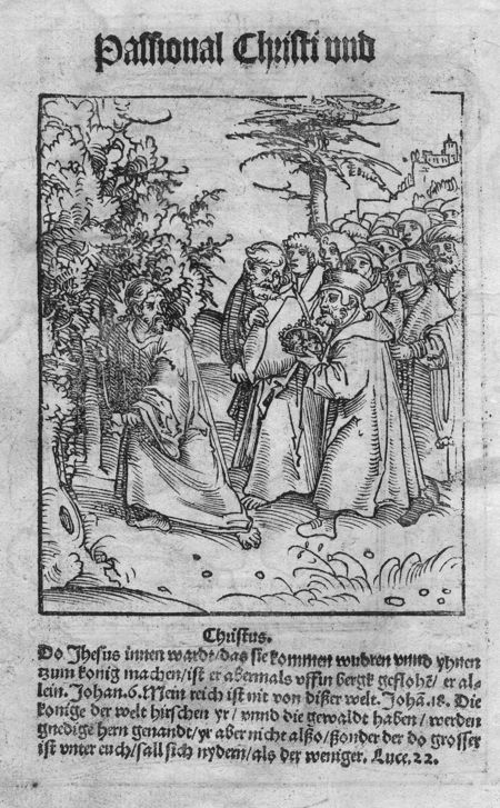 Martin Luther, Passional Christi vnd Antichristi, 1521
