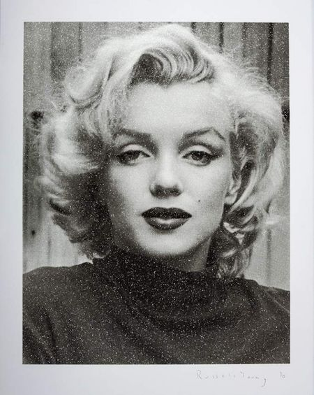 Marilyn Hollywood - Superstar Black and White
