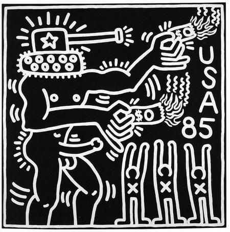 Keith Haring, Ohne Titel, 1985