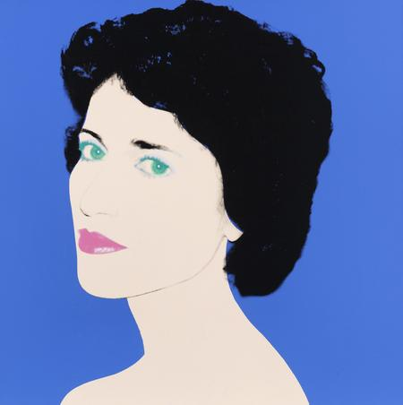 Andy Warhol, Portrait of a Lady, 1985