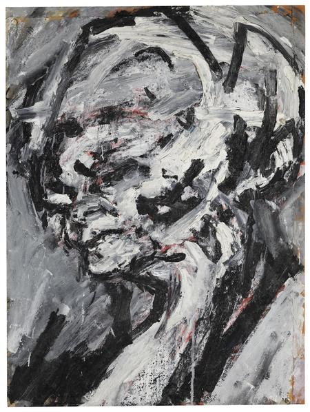 Frank Auerbach, Head of Gerda Boehm, 1964/65