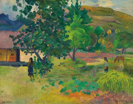 Paul Gauguin, Te Fare (La maison), 1892