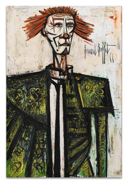 Bernard Buffet, Clown, 1966
