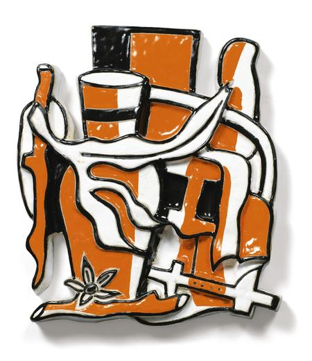 Fernand Léger, Le Vase orange, 1951