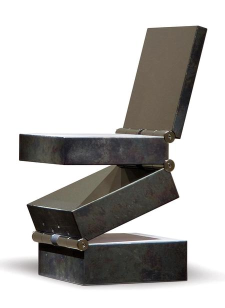 "Ron Arad, Stuhl ""Box in Four Movements"", 1994"