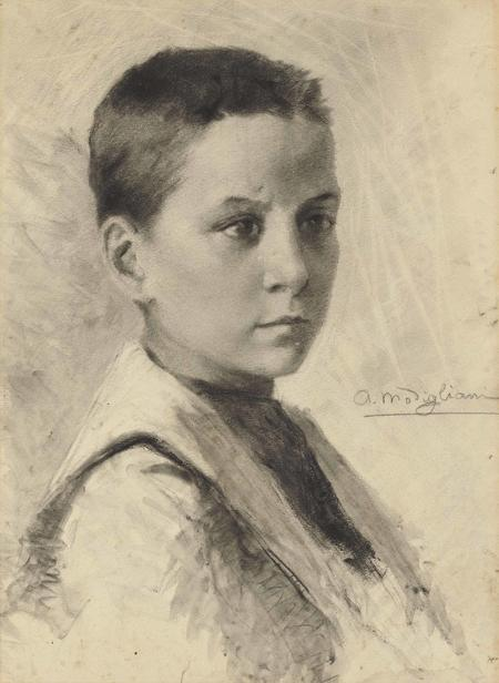 Amedeo Modigliani, Autoportrait, 1899