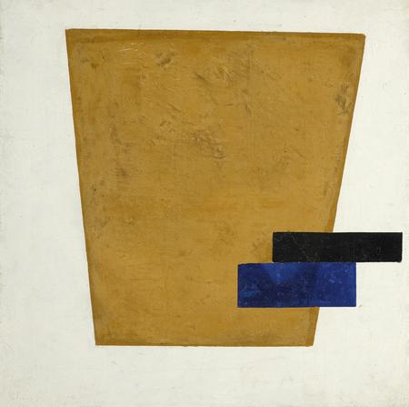 Kasimir Malewitsch, Suprematist Composition with Plane in Projection, 1915
