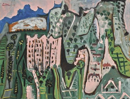 Pablo Picasso, Paysage, 1965