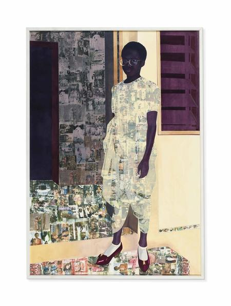 Njideka Akunyili Crosby, The Beautyful Ones, 2012