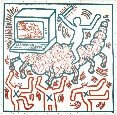 Keith Haring, Ohne Titel, 1983