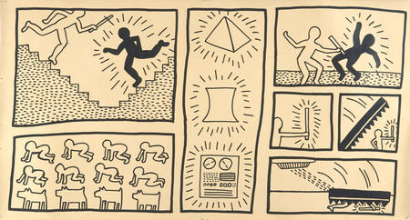 Keith Haring, Ohne Titel, 1980