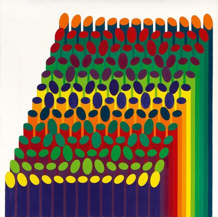 Julio Le Parc, Volume Virtuel 12, 1974