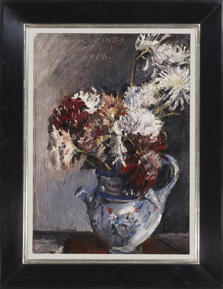 Lovis Corinth, Chrysanthemen im Krug, 1918