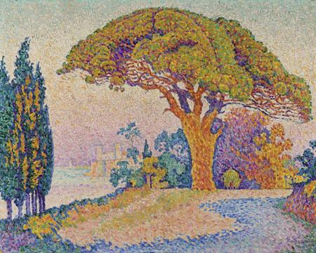 Paul Signac, Le Pin de Bertaud, 1899/1900