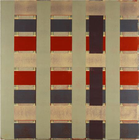 Sean Scully, Crossover painting#1, 1974