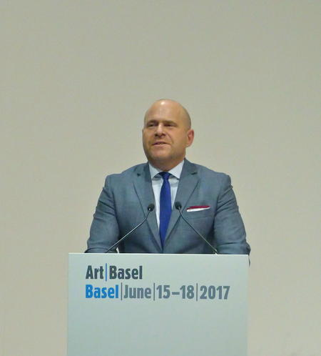 Marc Spiegler, Global Director der Art Basel