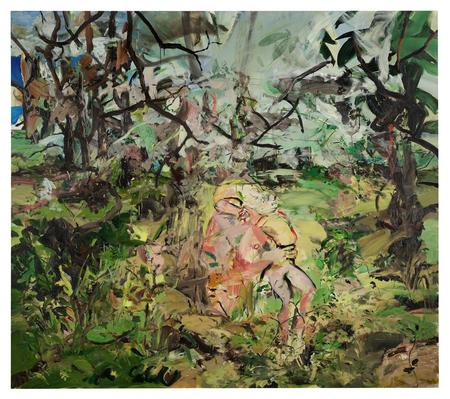 Cecily Brown, Sock Monkey, 2003
