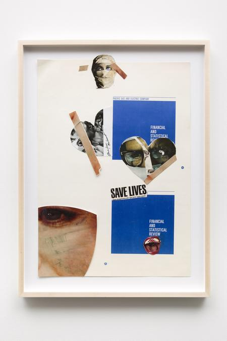 Lynn Hershman Leeson, Save Lives, 1967