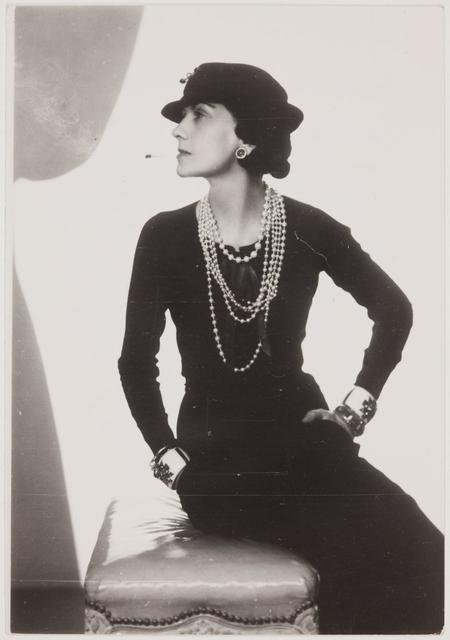 Man Ray, Gabrielle Chanel, 1935/36