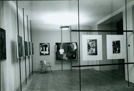 Ausstellungsansicht, Hall of the Architects Society of Croatia, Zagreb, 1953