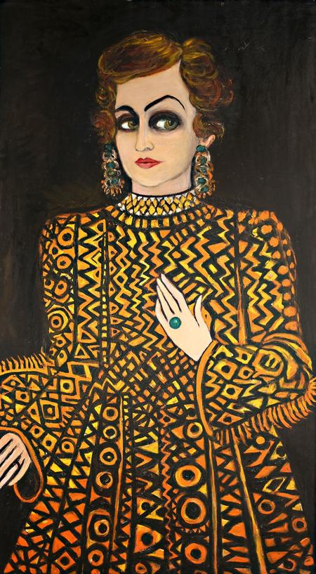 Fahrelnissa Zeid, Someone from the Past, 1980