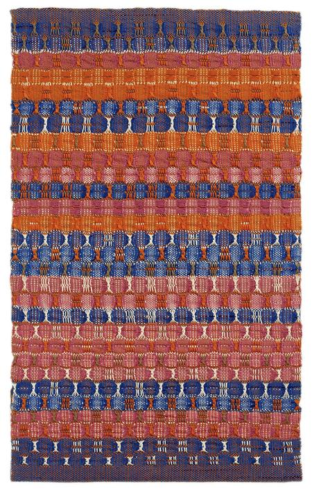 Anni Albers, Red and Blue Layers, 1954