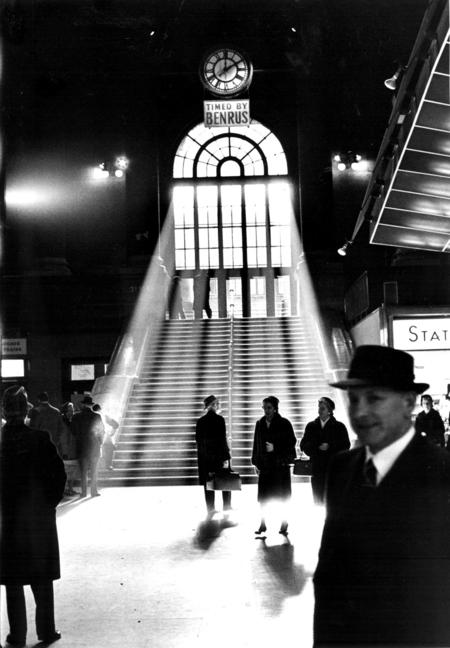 Horst Schäfer, NY Pennsylvania Station, 1962