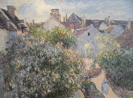 Alfred Sisley, Mein Haus in Moret, 1892