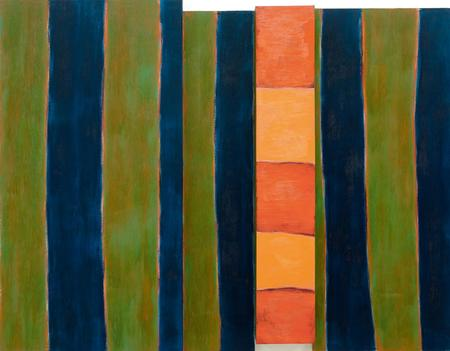 Sean Scully, The Bather, 1983