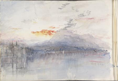 Joseph Mallord William Turner, The Rigi, 1844