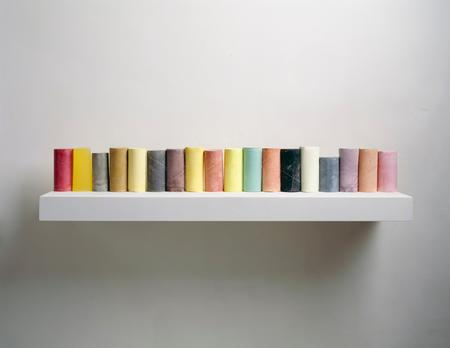 Rachel Whiteread, Line Up, 2007/08